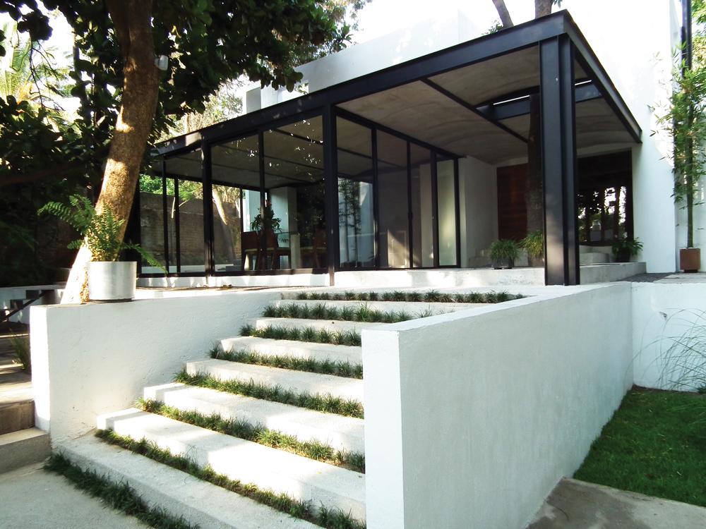 Revista c digo arte arquitectura dise o moda estilo - Casas estructura metalica ...