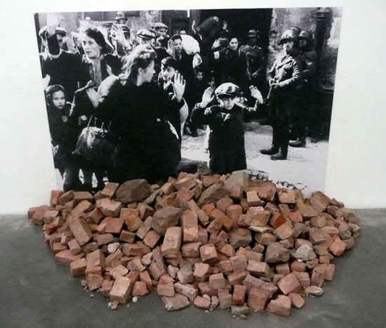 Gustav-Metzger,-Historic-Photographs-No1-Liquidation-of-the-Warsaw-Ghetto,-April-19-28-days,-1943,-1995_2011,-New-Museum,-New-York