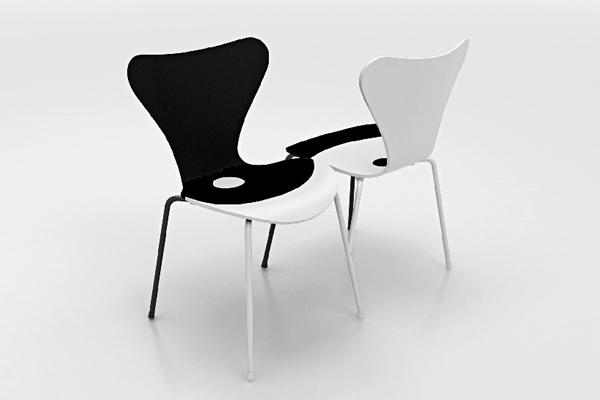 CUERPO-series-7-seven-chair-arne-jacobsen-BIG-zaha-hadid-jean-nouvel-snohetta-designboom-09