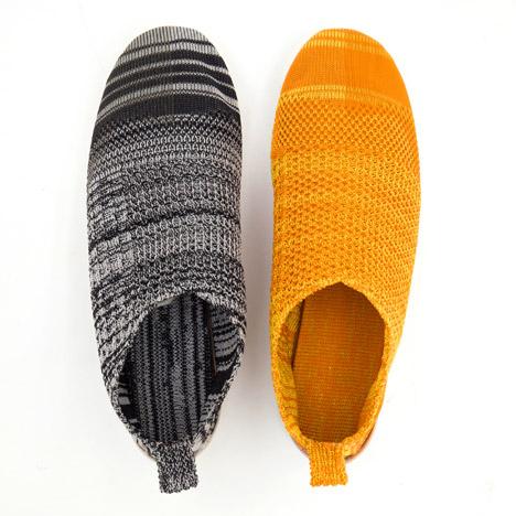 Ammo Liao, Alpargatas creadas a partir de material reciclado (2015). Vía Dezeenz/i>