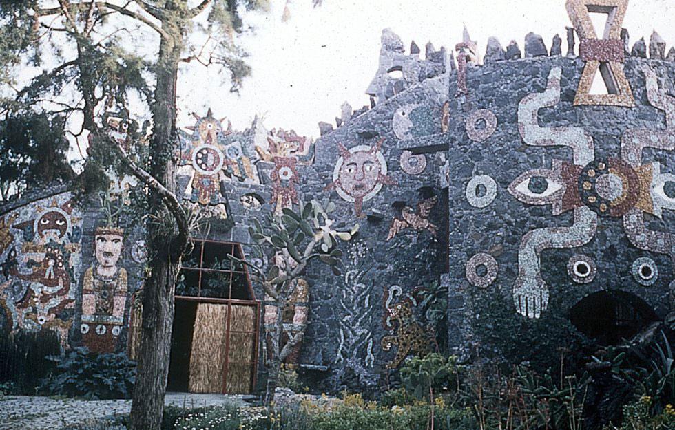 Arquitectura orgánica de Juan O'Gorman.