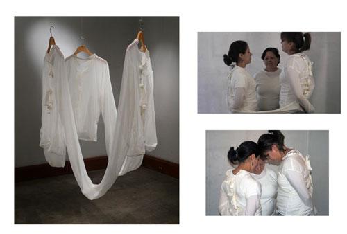 CUERPO-Galería-Pablo-Goebel-Monica-Contreras-El-Tope---accion-y-escultura-en-tela-2011