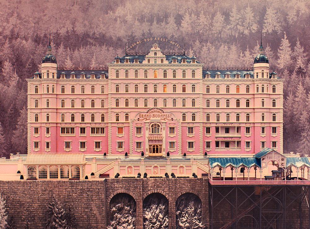 Wes Anderson, El gran hotel Budapest (2014)