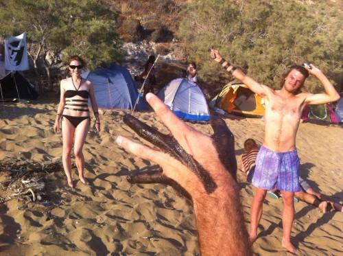 05_Body Interfacing, un happening de Angelo Plessas realizado cerca de Pyrgos, Grecia, 2012
