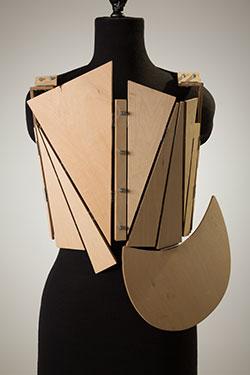Yohji Yamamoto, corset, fall 1991, Tokyo, gift of an anonymous donor, 2010.1.2