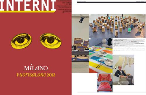 studio DRD project at INTERNI magazine 2013