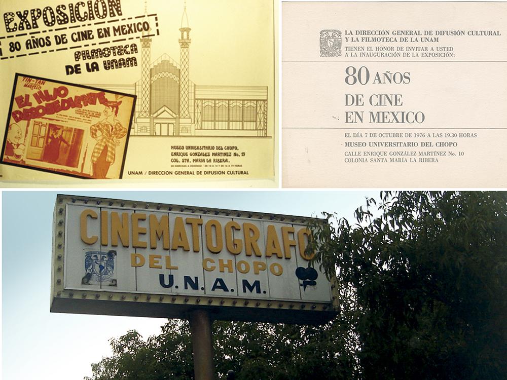 Cinematógrafo del Chopo (1977). Cortesía del Museo del Chopo