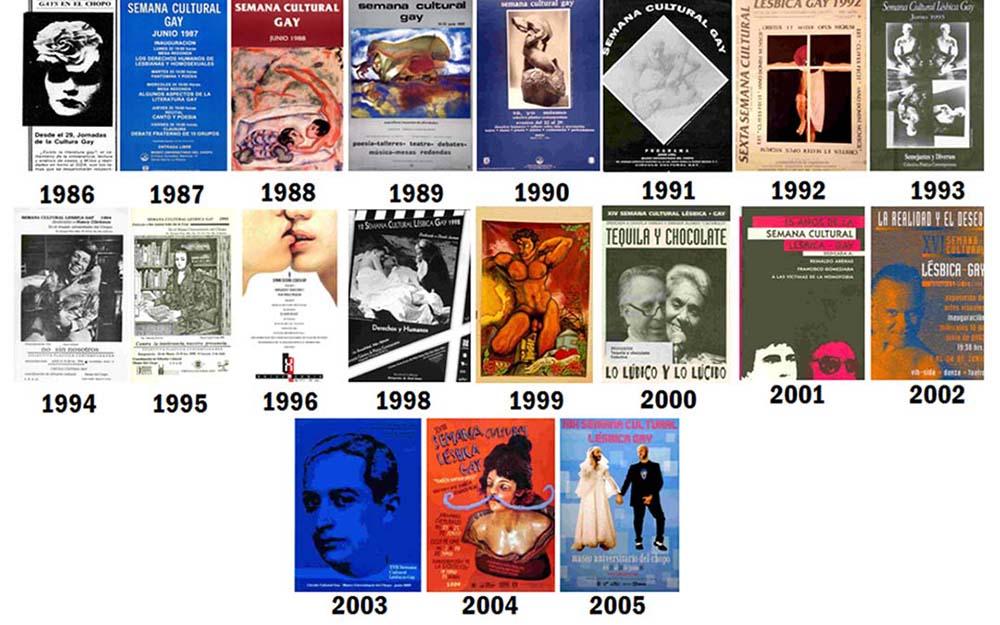 Jornadas de Cultura Gay. Cortesía del Museo del Chopo