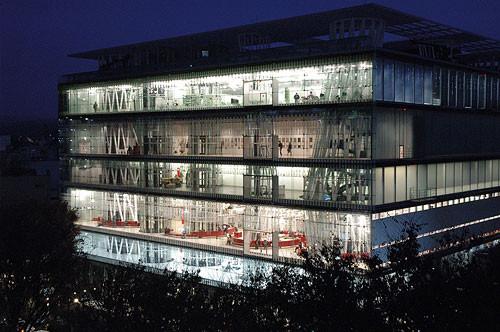 Toyo Ito, Mediateca de Sendai (2001). Tomada del sitio web del despacho