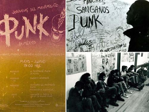 El rock y el punk (1979). Cortesía del Museo del Chopo