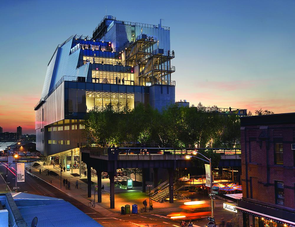 Renzo Piano, Museo Whitney (2015). ©Ed Lederman. Cortesía del museo Whitney