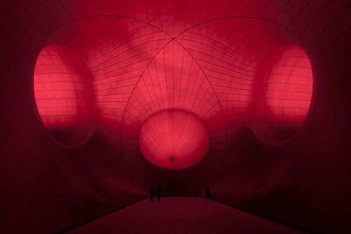 Anish Kapoor, Leviathan (2011). Instalación para Monumenta, en el Grand Palais Paris