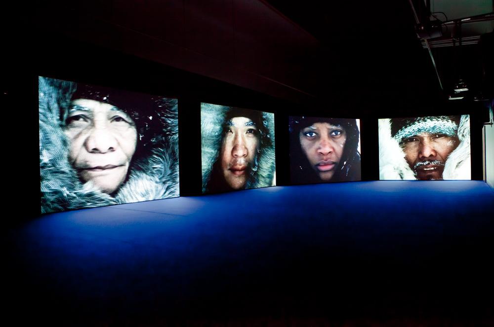 Fantôme Créole (2005). Vista de instalación. © Laila Meyrick/Velour. Cortesía de Kunsternes Hus