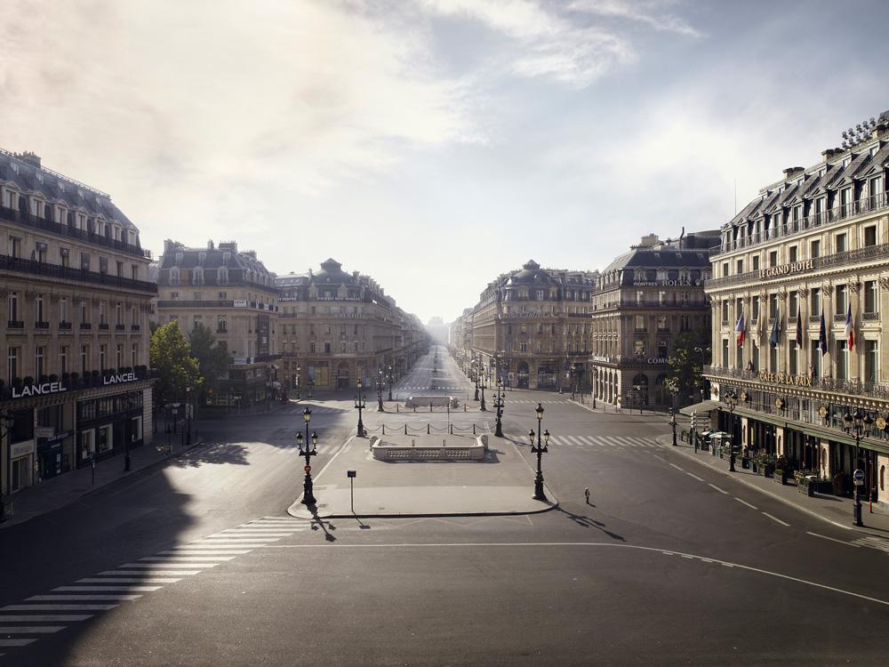 Brodbeck & De Barbuat, Silent world (Place de l'Opéra) (2012). París. Cortesía de los artistas