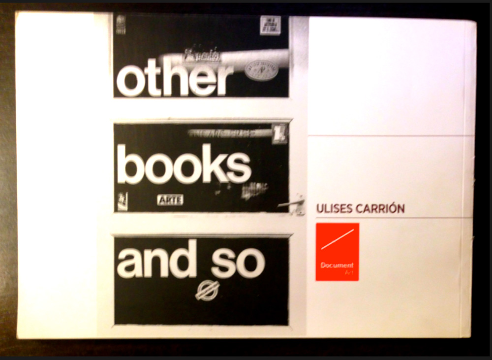 Other Books and So (1975-79)