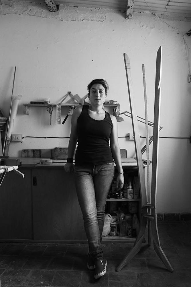 Alejandra Lamelas (Yerba Buena, Argentina 1987). Tomada del Facebook de la diseñadora