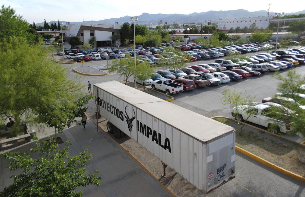 Alejandro Morales y Urbánika, Proyectos Impala (2016). Vista en la Universidad Autónoma de Ciudad Juárez
