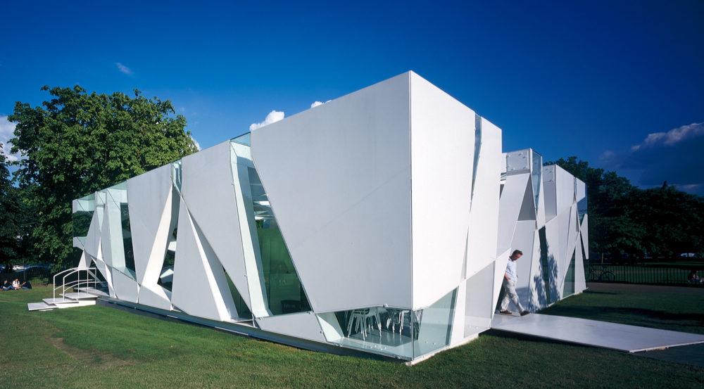 Toyoo Itō, Pabellón de Serpentine Gallery (2002)