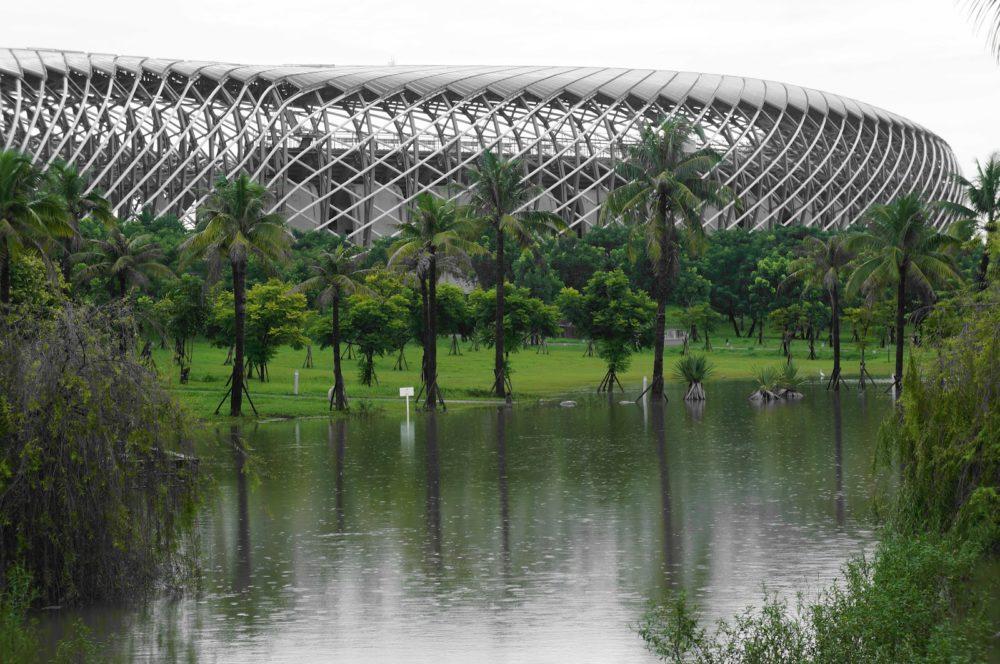 Toyoo Itō, Estadio Kaohsiung (Taiwan, 2009)