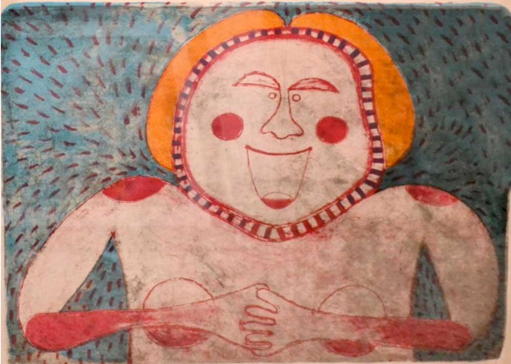 Rufino Tamayo, Mujer sonriente de la colección Mujeres (1969)