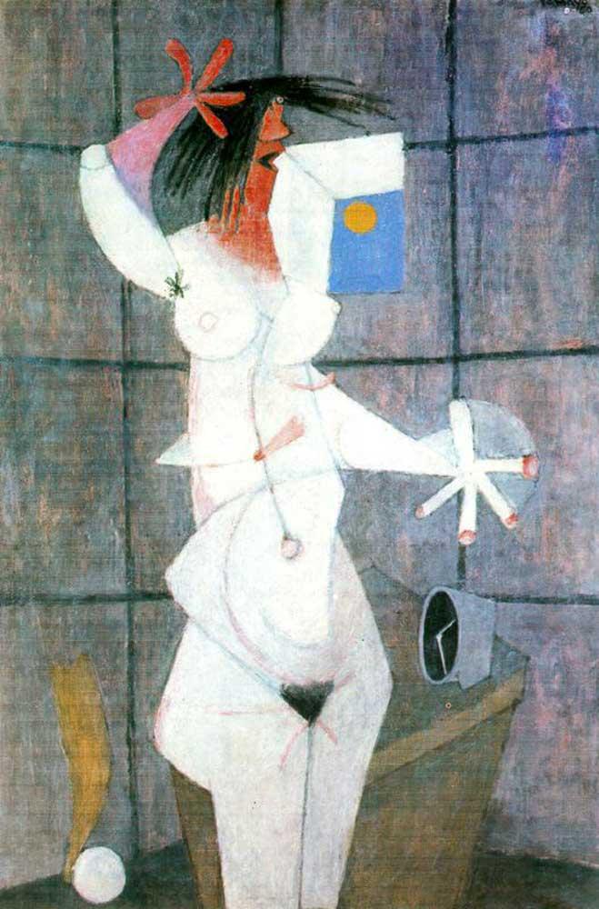 Rufino Tamayo, Desnudo blanco (1950)