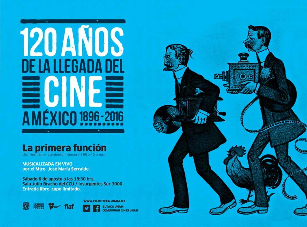 120 años de la llegada del cine a México