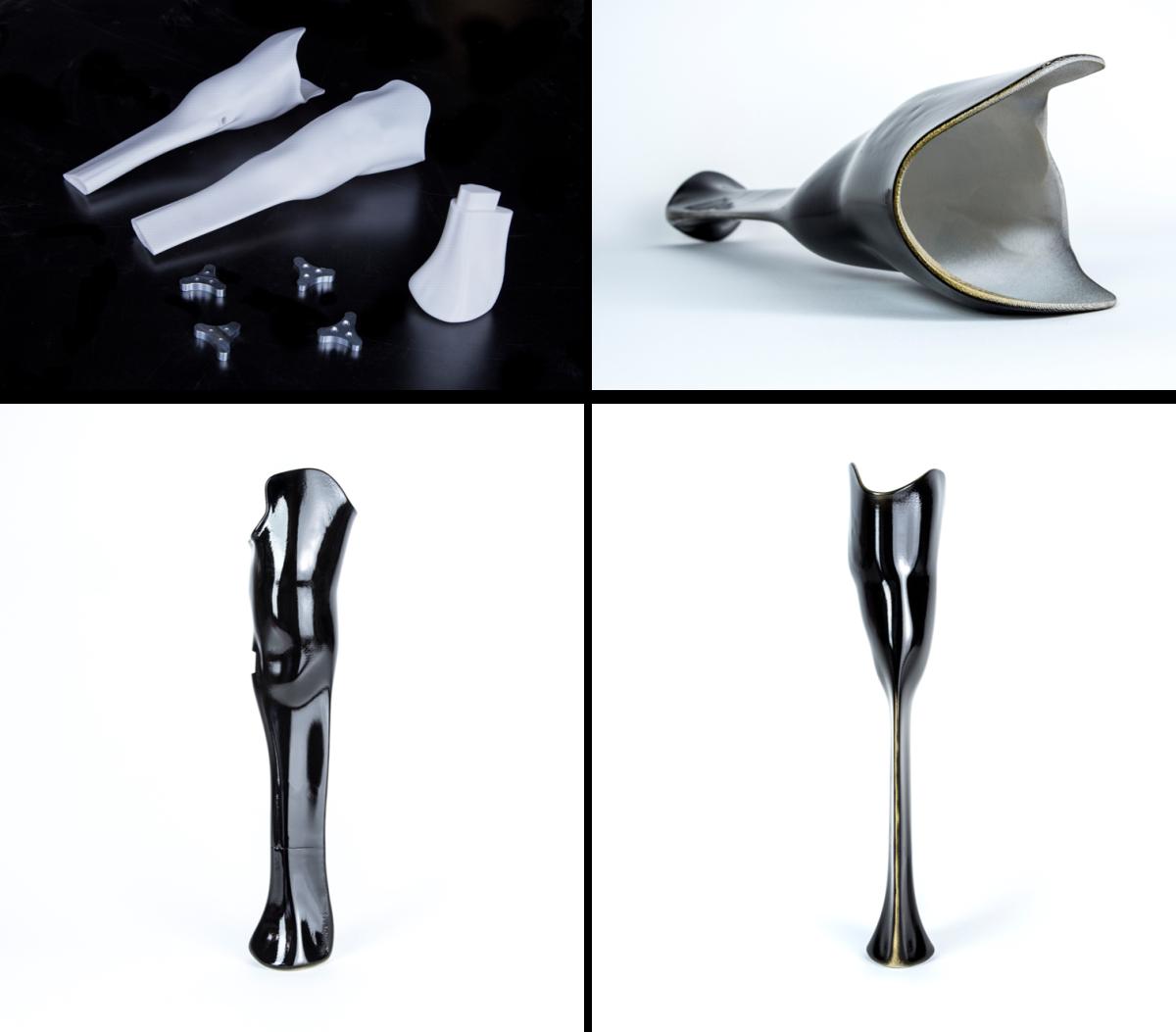 Pierna prostática diseñada para Denise Schindler, por Autodesk. Tomada de 3dprint.com