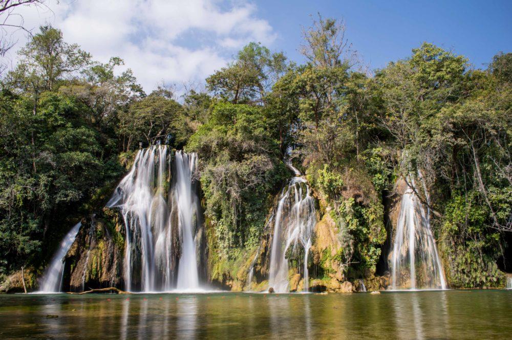 Cascadas de Tamasopo, Tamasopo, San Luis Potosí. Imagen cortesía del lugar
