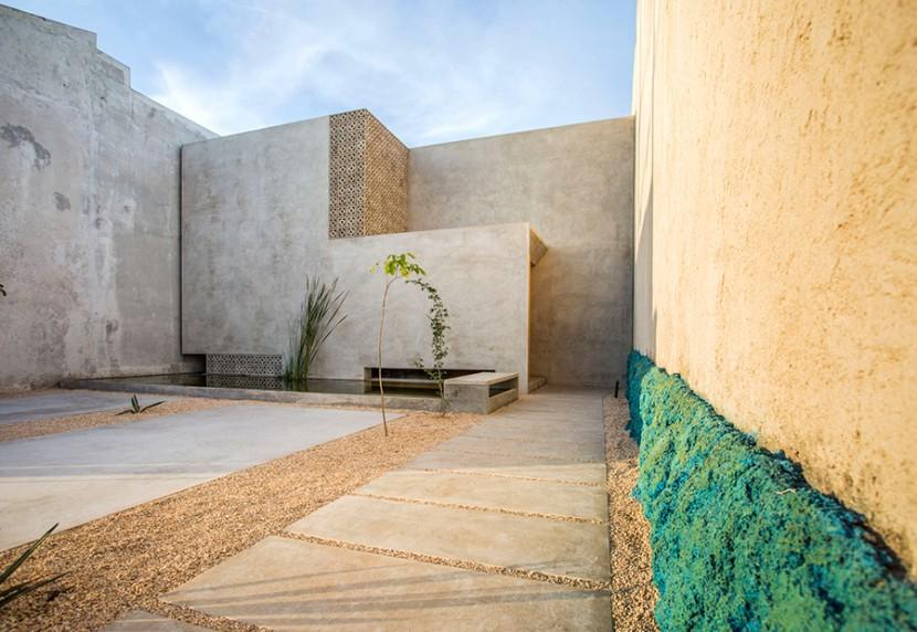TACO Taller de Arquitectura Contextual, Casa Gabriela (2015). © Leo Espinosa y Carlos Patrón
