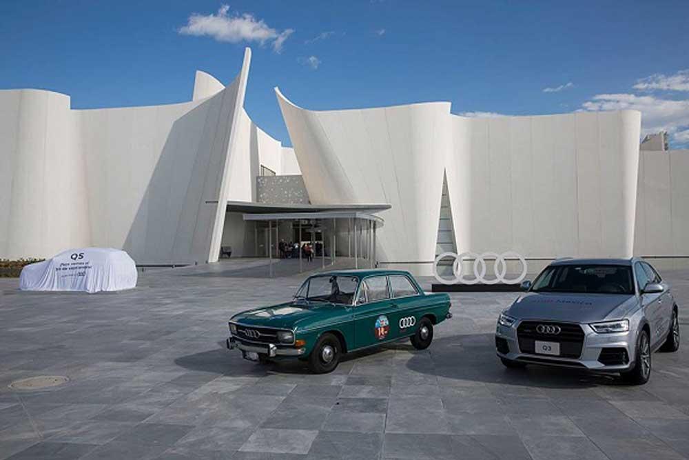 Exposición de Audi en el Museo Internacional del Barroco (2016). Imagen tomada de intoleranciadiario.com