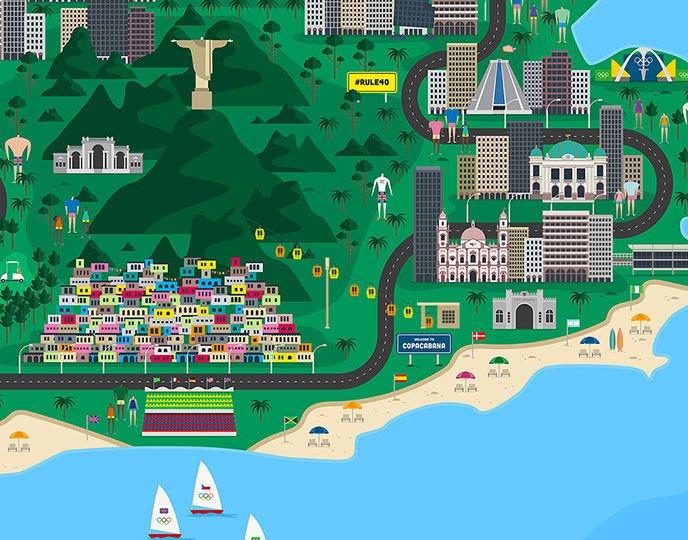 Mapa interactivo, Fiasco Design