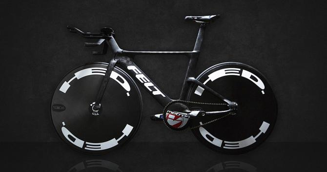 Bicicleta TA FRD para el equipo estadounidense, por Felt Racing Development