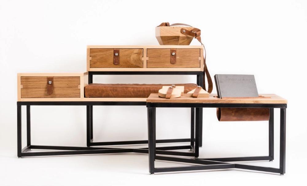 Pluma Design Studio, Serie Auxiliar (2015). Fotografía tomada del sitio oficial del estudio