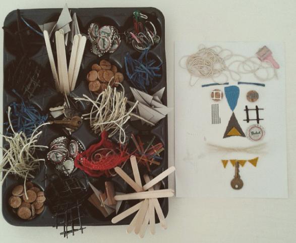 Fábrica de Estampas. Taller: Berni, el grabajo y el reciclaje (2016). Imagen tomada de la web de Museo Tamayo