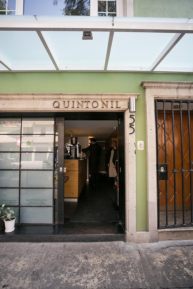 Restaurante Quintonil. Cortesía del restaurante