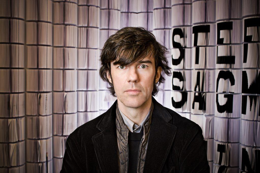 Stefan Sagmeister (Bregenz, Austria 1962). Cortesía del AMD
