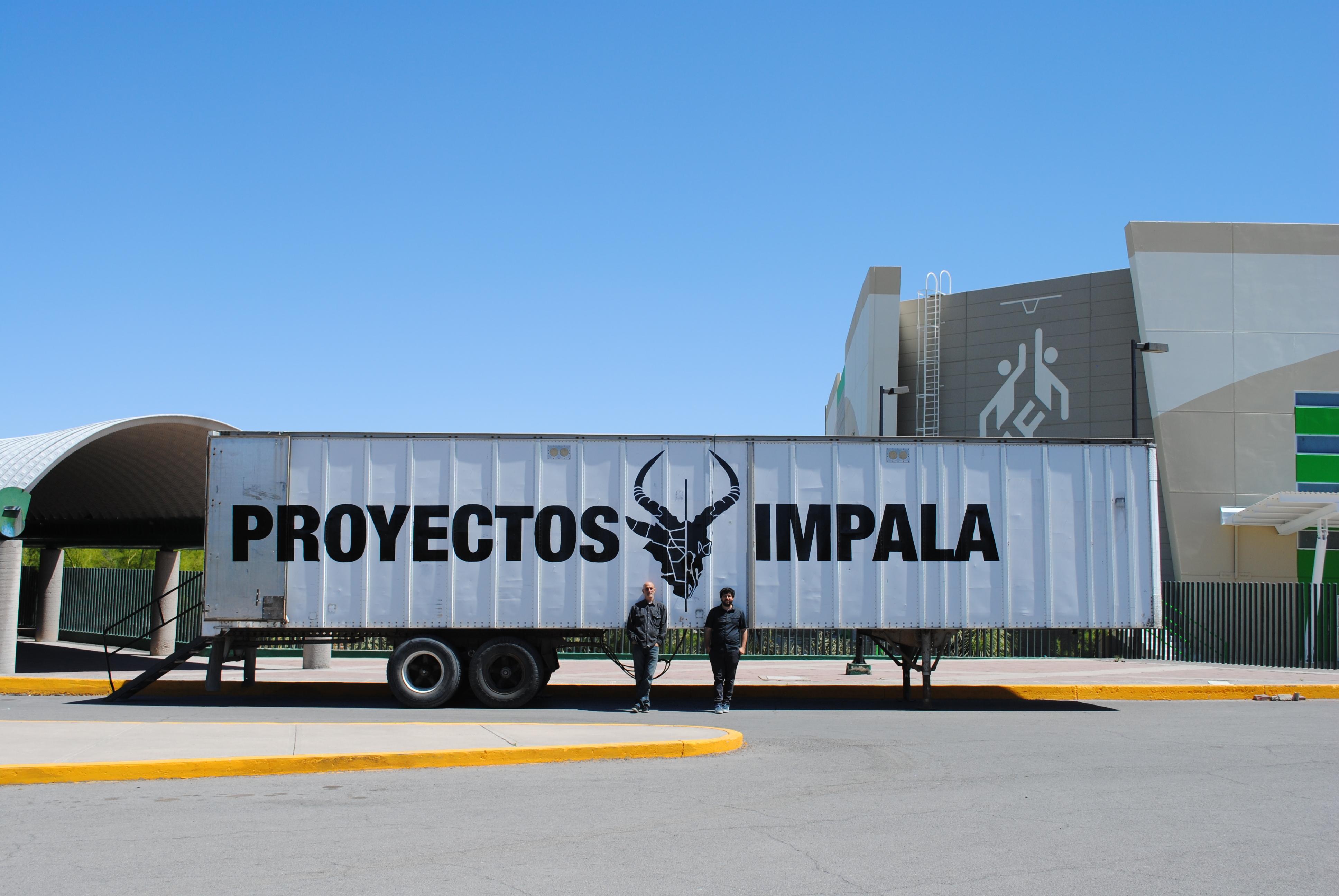 Proyectos Impala. Cortesía de la plataforma móvil