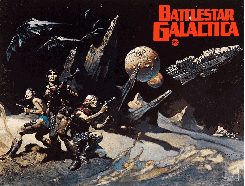 Glen A. Larson, Battlestar Galactica, (1978 - 1980). Imagen tomada de tvtropes.org