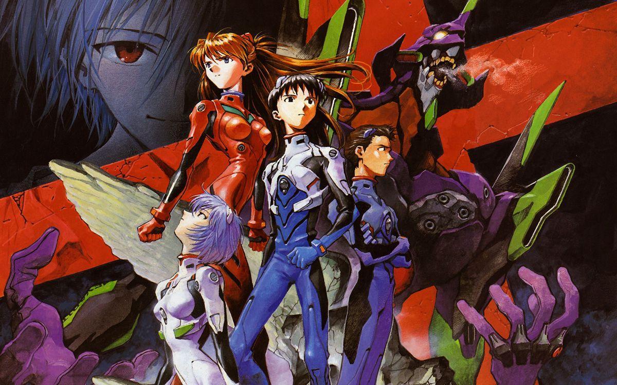 Hideaki Anno, Neon Genesis Evangelion (1995 – 1996). Imagen tomada de opus.fm