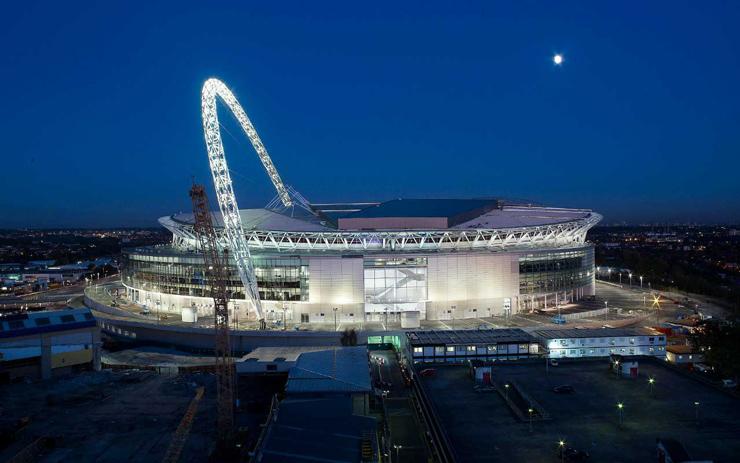 Estadio Wembley. Imagen tomada de fosterandpartners.com