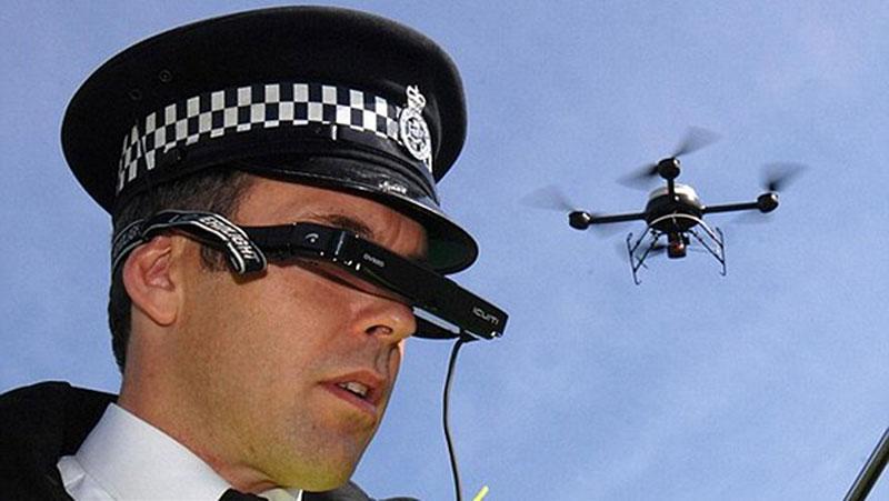 Dron para uso militar y policíaco