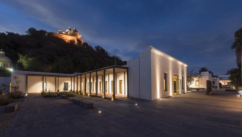 vista del museo regional de cholula