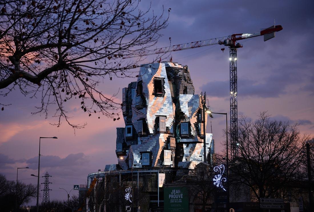 Edificio de metal. Edificios más esperados de 2019.
