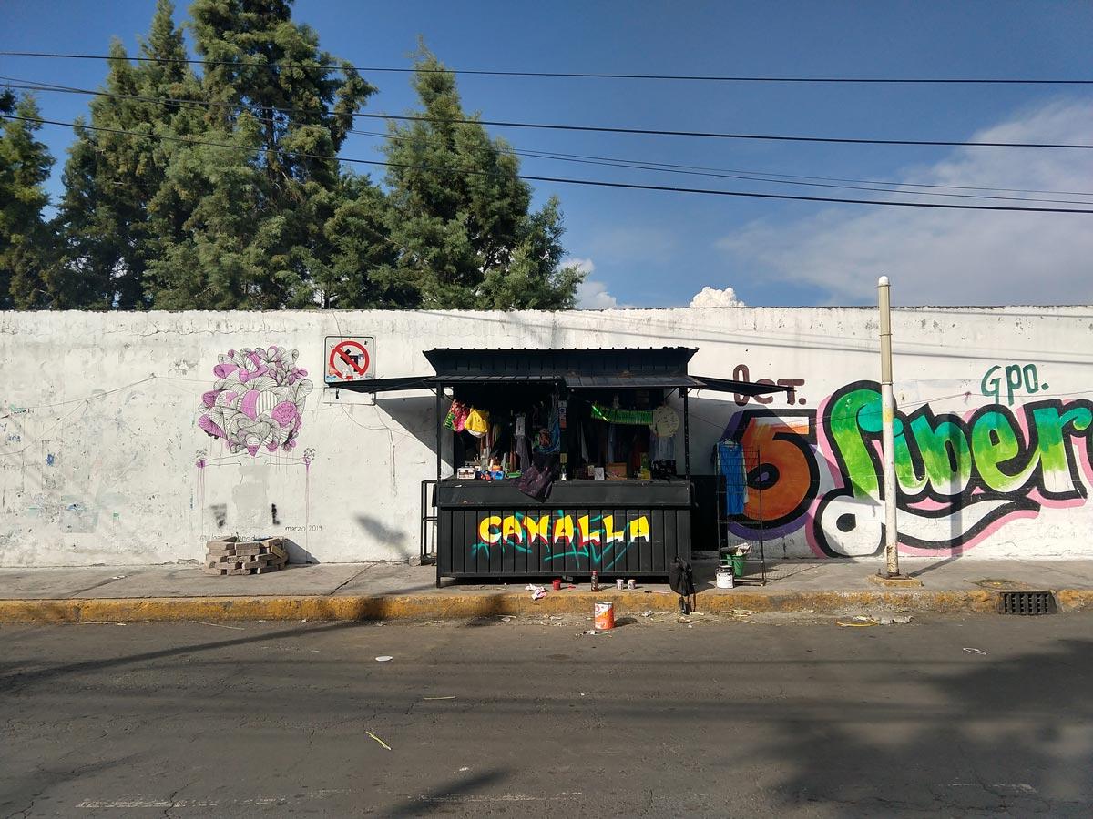 Colectivos artísticos. Colectivo Canalla en el Estado de México.