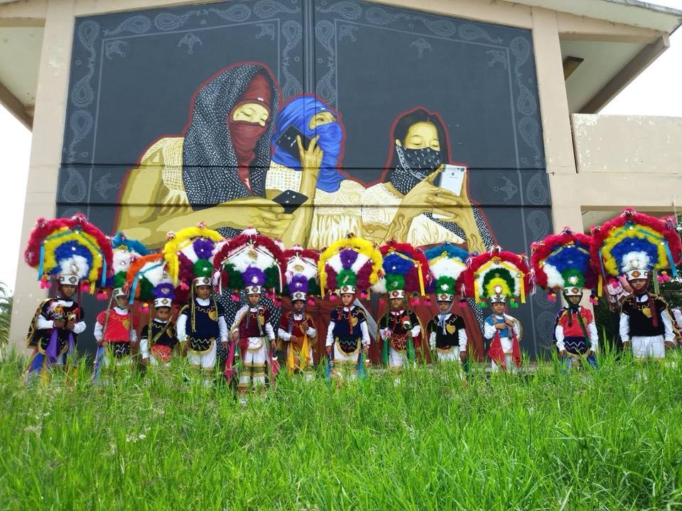 Colectivos artísticos. Tlacolulokos mural.